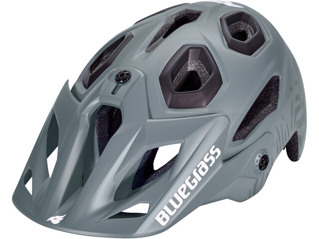 bluegrass Golden Eyes Helm storm gray/texture/black